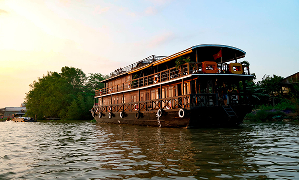 Le cochinchine Cruise Mekong
