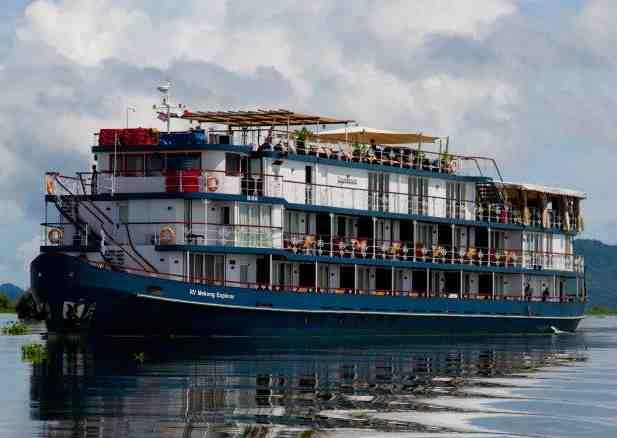 Jayavarman Cruise Mekong river