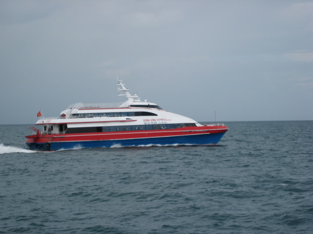 Express boat to Phu Quoc
