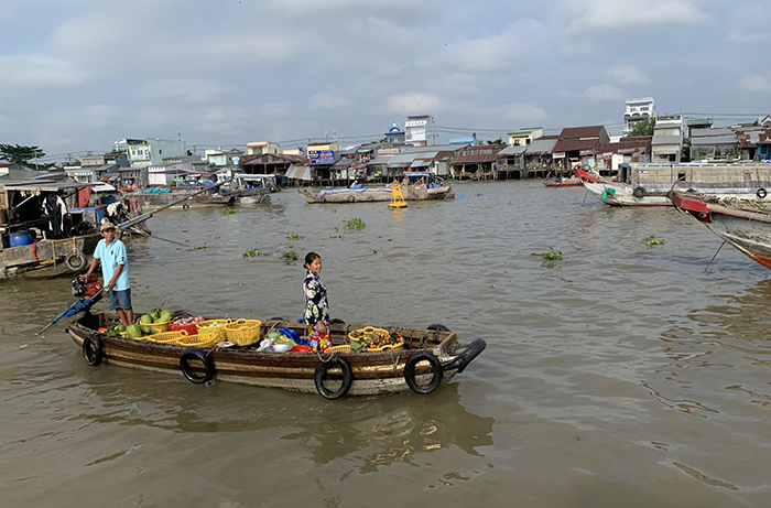 Cai Rang Floating market Can Tho
