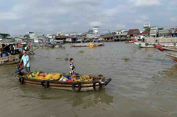 From Cambodia to Mekong Delta, Vietnam
