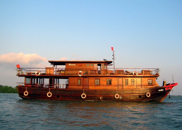 Bassac Cruise Mekong 2days  : Cai Be - Can Tho